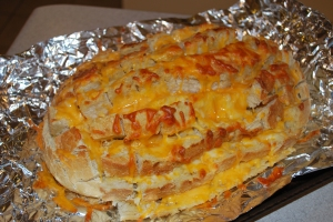 Cheesy Pull-Apart Bread