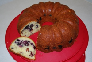 Blueberry Buttermilk Bundt Cake