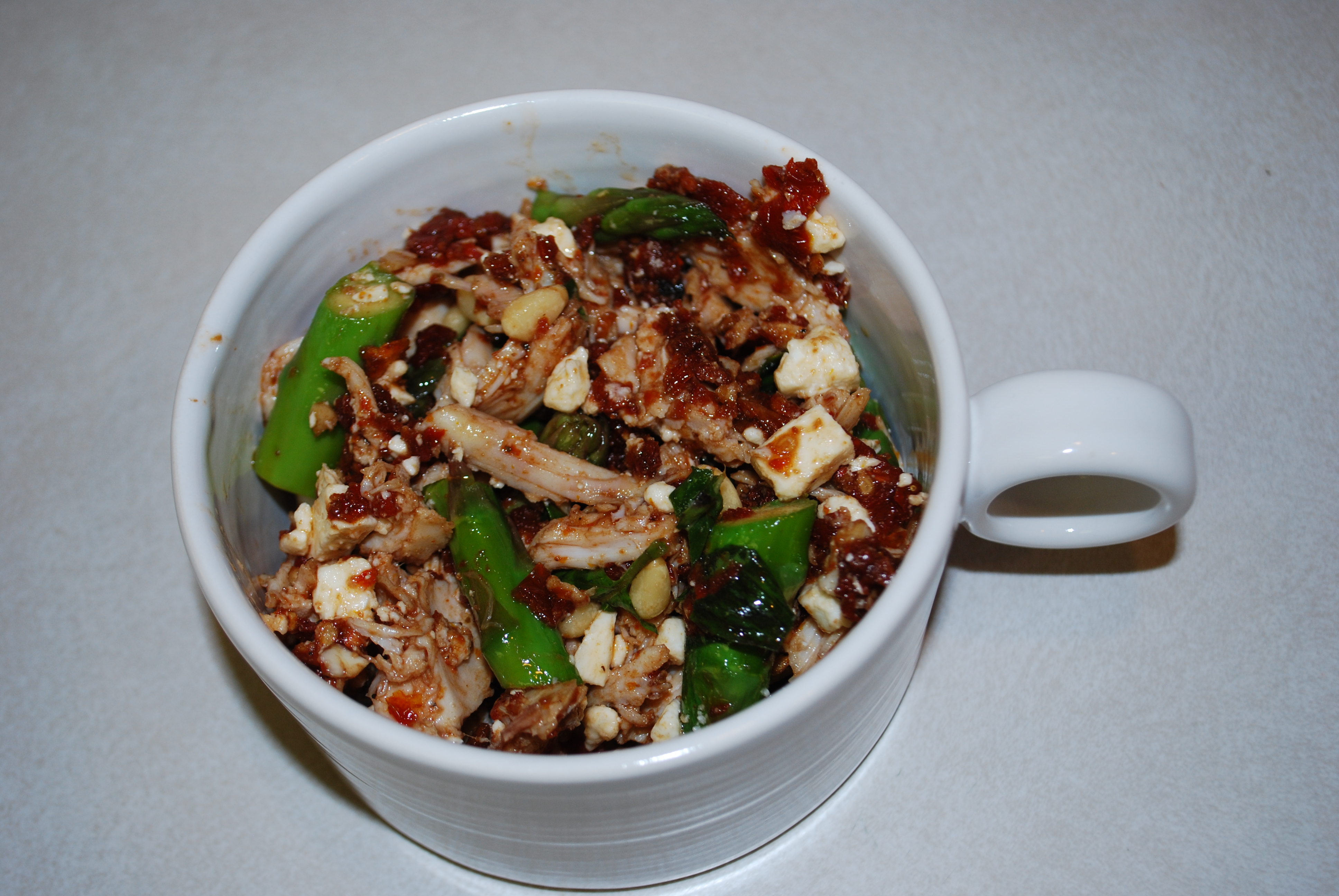 ... Recipe: Chicken Salad with Asparagus and Sun-Dried Tomato Dressing