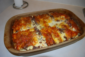 Italian Sausage Strata