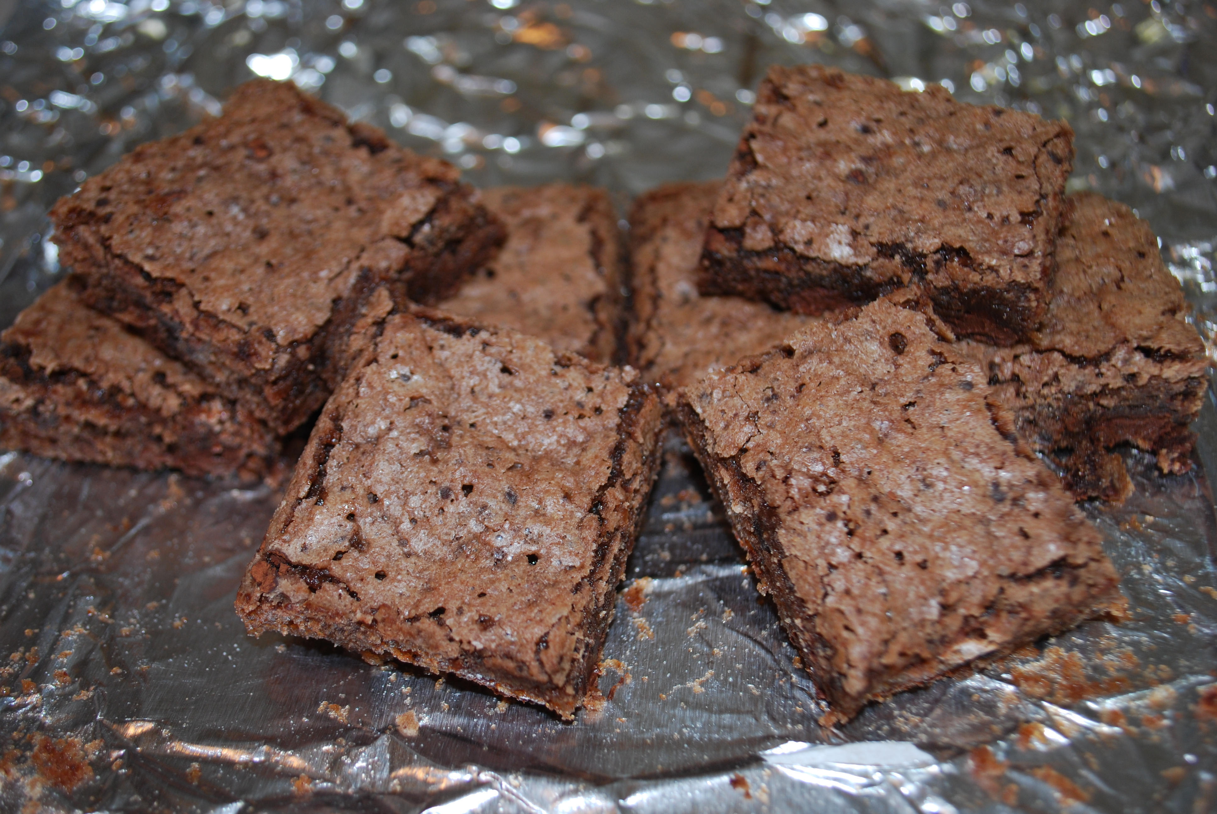 Brownie Thins Recipe — Dishmaps