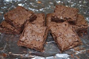 Thin Fudgy Brownies
