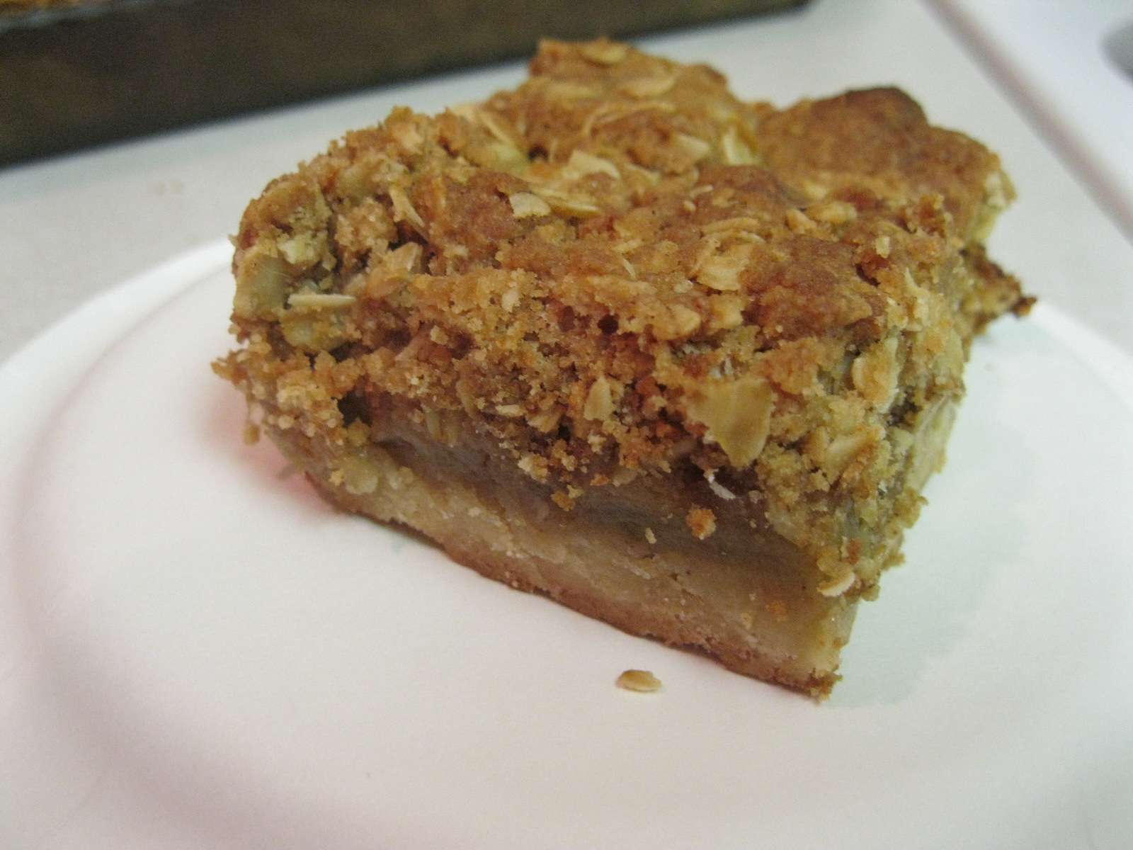 And My Next Marathon Is… (Recipe: Apple Pie Bars) | Oven ...