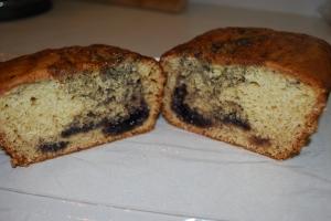 Blueberry Swirl Bread