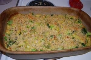 Broccoli and Cheese Casserole - CI
