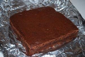 Fudgy, Triple Chocolate Brownie - CI