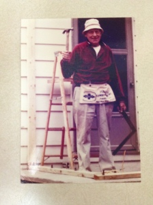 My great-grandfather who passed from lymphoma.