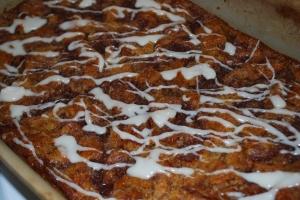 Cinnamon Roll Bread Pudding Breakfast Casserole1