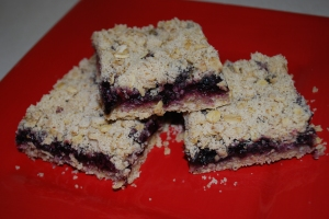 Blueberry Oatmeal Bars - MBA