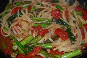 Linguine with Asparagus