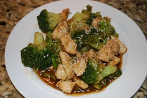 12-Minute Chicken and Broccoli
