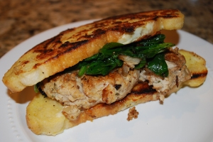 Monte Cristo Chicken Burger