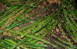 Pistachio-Crusted Asparagus