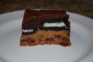 Chocolate Chip Cookie and Oreo Fudge Brownies2