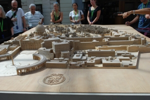 Model of the Vatican that I thought was pretty cool.