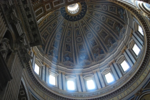 The dome of St. Peter's Basilica!