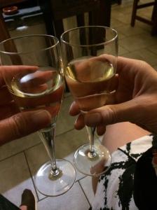 Florence Wine (last night)