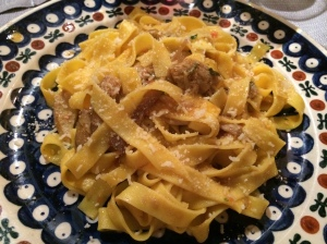 Tagliatelle with Porcini