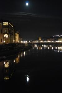 The Arno at night!