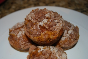 Pumpkin Muffins - Gimme Some Oven