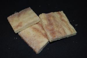 Cinnamon Shortbread Bars