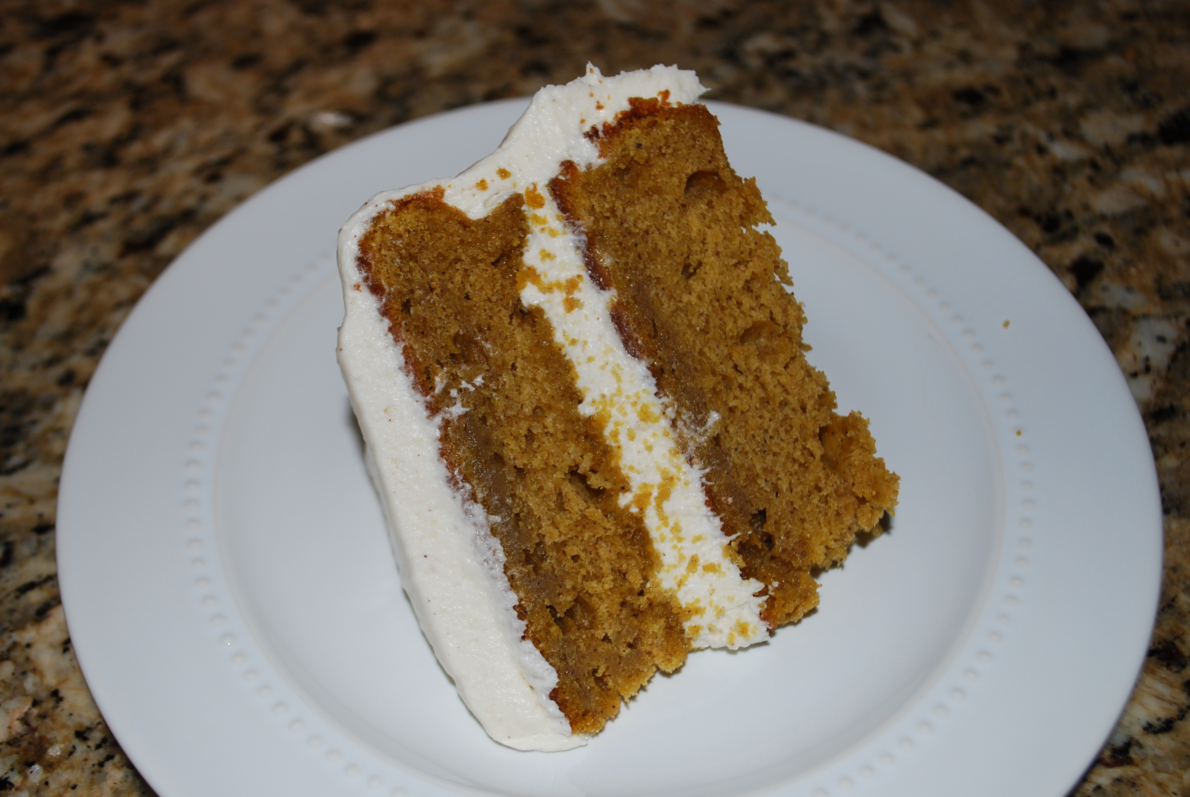 ... Running Shoes! (Recipe: Pumpkin Cake with Maple Cream Cheese Frosting