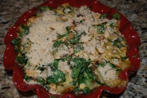 Chicken Florentine Artichoke Bake2