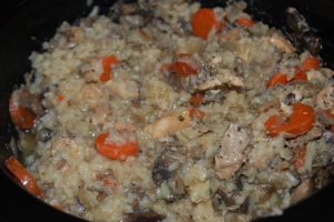 Lightened-Up Chicken and Wild Rice Soup