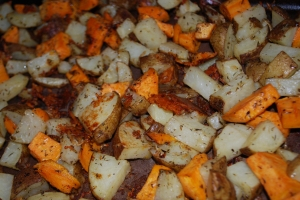 Roasted Herbed Potatoes